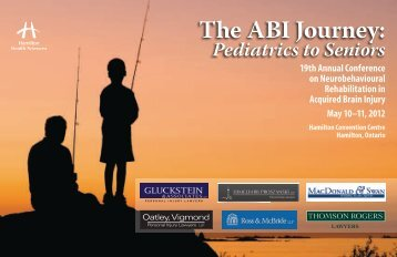 The ABI Journey: Pediatrics to Seniors - Hamilton Health Sciences