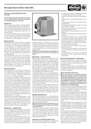 Brandgas-Dachventilator Serie BDV.. - HELIOS Ventilatoren