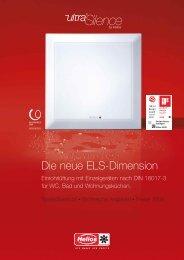 Helios ELS-Preisliste 2009 - HELIOS Ventilatoren