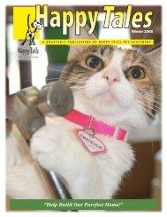 """""""Help Build Our Purrfect Home!"""" - Happy Tails - Pet Sanctuary"""