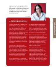 < Catherine Opie > - Guggenheim Museum