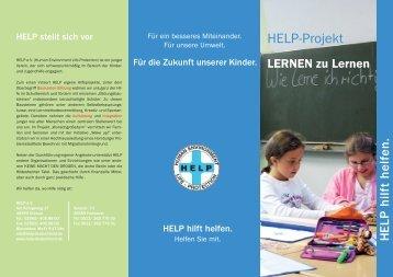LERNEN zu lernen - Help Deutschland