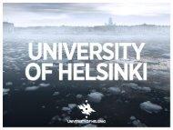 General information about University of Helsinki - Helsinki.fi