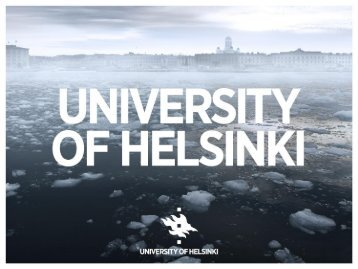 General information about University of Helsinki - Helsinki.fi