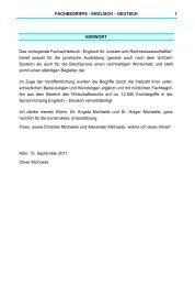 FACHBEGRIFFE - ENGLISCH – DEUTSCH- 1 ... - hemmer.shop