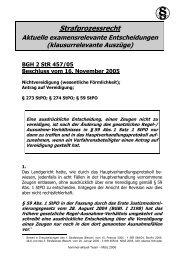 Strafprozessrecht - Hemmer-Aktuell