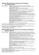 Original BADU -Qualität mit geprüfter Sicherheit! - Page 2