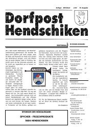 dorfpost/ausgabe_2002-02.pdf - Gemeinde Hendschiken