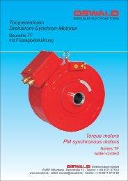 Torquemotoren Drehstrom-Synchron-Motoren Torque ... - Hennlich