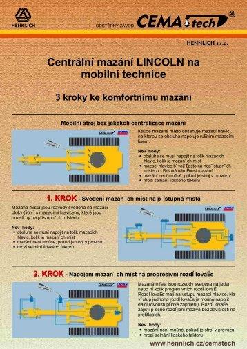 Info CM-05 - Mobilní technika - 3 kroky - Hennlich