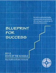 State of the Schools 2012.indd - Guilford Public Schools