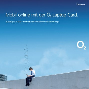Mobil online mit der œ Laptop Card.