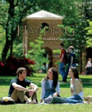 Viewbook & Application - Harding University
