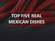 Mexican Food in Texas – Must Taste Cuisines