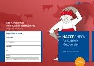 Haccp-Check für Südtirols Metzgereien