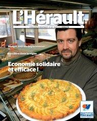 L'Hérault n°222 - mars 2013 - Conseil Général de l'Hérault