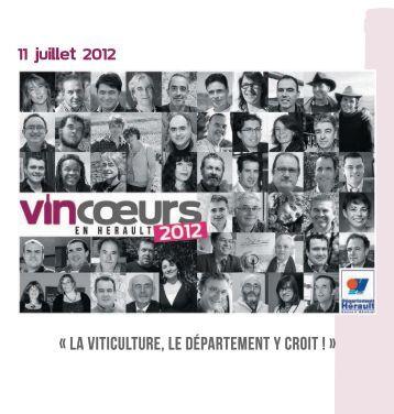 Vincoeurs 2012 - Conseil Général de l'Hérault