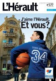 Magazine de l'Hérault - Février 2009 (n°177) - Conseil Général de l ...