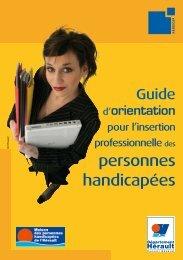 personnes handicapées - Conseil Général de l'Hérault