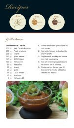 Recipes Grill Sauces - herbacuisine