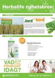 Herbalife nyhetsbrev - Herbalife Today Magazine