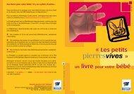 Les petits pierrevives - Conseil Général de l'Hérault