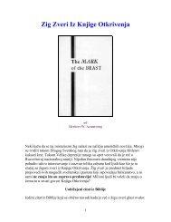 Zig Zveri Iz Knjige Otkrivenja.pdf - Herbert W. Armstrong Library and ...
