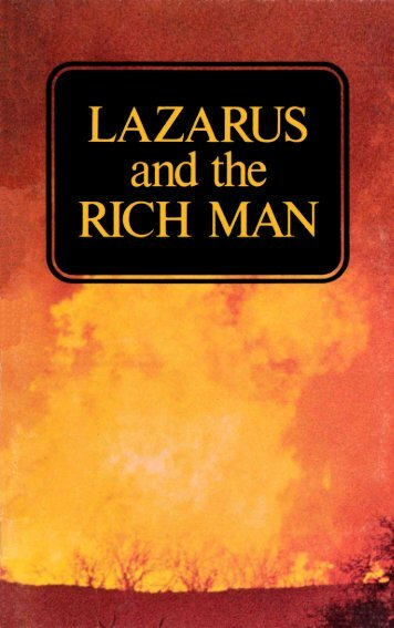 Lazarus and the Rich Man (1973)_b.pdf - Herbert W. Armstrong