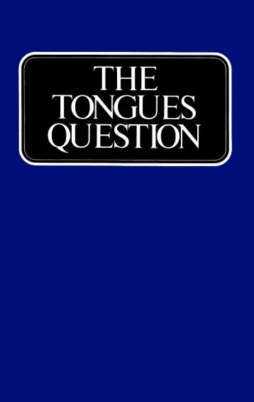 Tongues Question (1970)_b.pdf - Herbert W. Armstrong