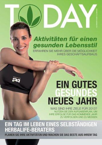 EIN GUTES GESUNDES NEUES JAHR - Herbalife Today Magazine