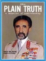 Plain Truth 1973 (Prelim No 11) Dec - Herbert W. Armstrong