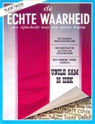 Echte Waarheid 1973 (No 08) Sep - Herbert W. Armstrong Library ...