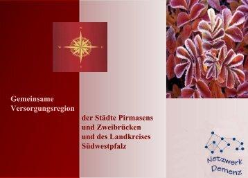 Gemeinsame Versorgungsregion der Städte Pirmasens und ...