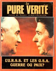 Pure Verite 1986 (No 05) Mai - Herbert W. Armstrong Library and ...