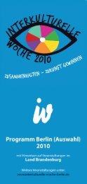 2010 Zusammenhalten - Zukunft gewinnen - Herden Studienreisen ...