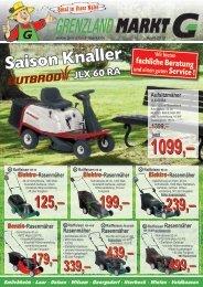 Saison Knaller JLX 60 RA - Grenzland Markt