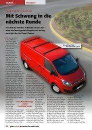 Ford Transit Custom - Güterverkehr - online
