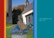 LAOIS HERITAGE PLAN 2007 - 2011 - The Heritage Council