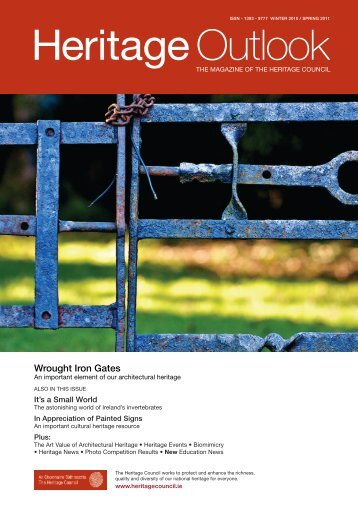 to download the Winter 2010/Spring 2011 edition of Heritage Outlook
