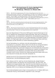 Bericht des Ausschusses für innere ... - Hermann Krist