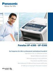 Panafax UF-6300 UF-5300
