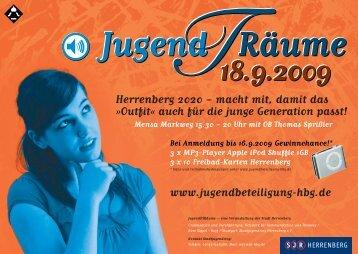 Jugend-t-räume Flyer (PDF) - Herrenberg