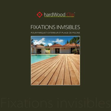 FIXATIONS INVISIBLES - HardWood Clip