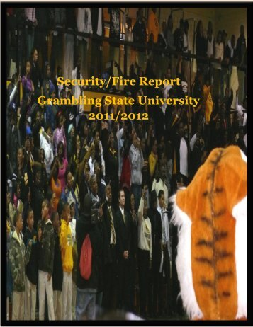 Annual Security Report - Grambling State University