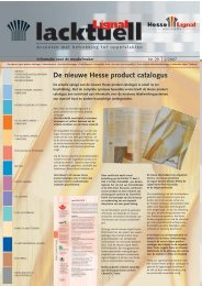 De nieuwe Hesse product catalogus - Hesse Lignal
