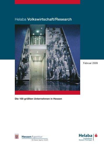 Helaba Volkswirtschaft/Research - HA Hessen Agentur GmbH