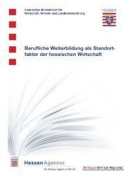 Berufliche Weiterbildung als Standortfaktor der hessischen Wirtschaft