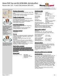 Hesse PUR Top coat DU 44709-0002, Anti-slip effect - Hesse Lignal