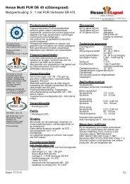 Hesse Multi PUR DE 45 x(Glansgraad) - Hesse Lignal