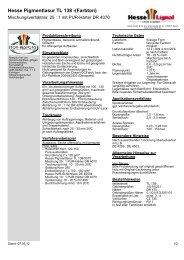 Hesse Pigmentlasur TL 138 -(Farbton) - Hesse Lignal